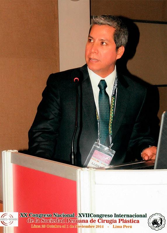 Dr. Gino Llosa - XX Congreso Nacional, XVII Congreso Internacional de la Sociedad Peruana de Cirugía Plástica