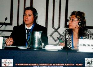 Dr. Gino Llosa - VI Congreso Regional Bolivariano de Cirugía Plástica - FILACP