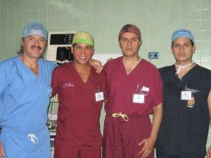 """""""Campaña Interplast"""" de Cirugía Reconstructiva: Fisuras labiales, palatinas y secuelas de quemaduras. - Iquitos 2007"""