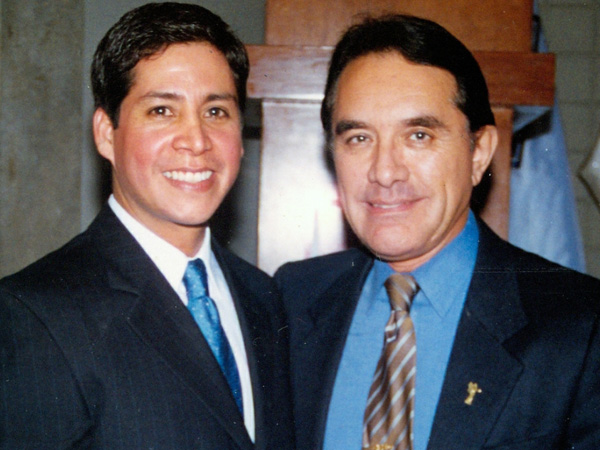 Dr. Gino Llosa con el Dr. Jorge Hidalgo - Coral Gables Cosmetic Center. Florida, USA 2007