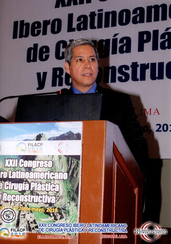 Dr. Gino Llosa - XXII Congreso Ibero Latinoamericano de Cirugía Plástica y Reconstructiva