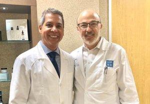 Dr. Gino Llosa con el Dr. Clayton Moliver - Houston Plastic & Reconstructive Surgery Clinic, Houston - EEUU 2020