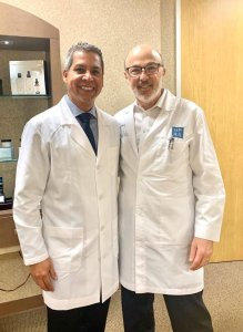 Dr. Gino Llosa con el Dr. Clayton Moliver - Houston Plastic & Reconstructive Surgery Clinic, Houston - EEUU 2020